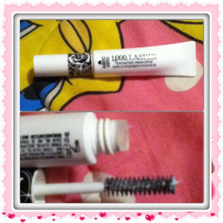 Hard Candy mascara primer for review. (Uploaded by keekee713)