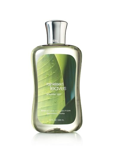 bath and body works rainkissed leaves shower gel