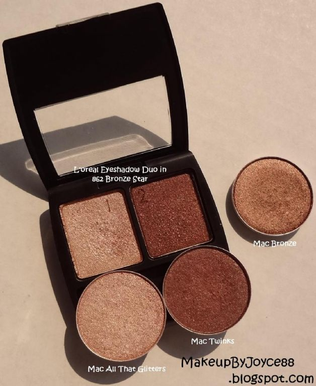 Loreal Paris Wear Infinite Eyeshadow Duo Bronze Star Reviews