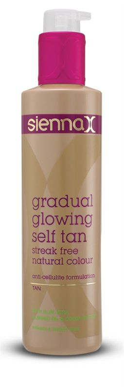 Sienna X - Gradual Glowing Self Tan