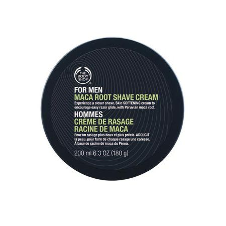 The Body Shop For Men shave cream