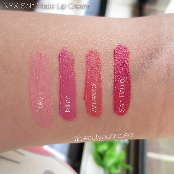 Pro Lip Cream Palette - The Nudes by NYX Professional Makeup #9