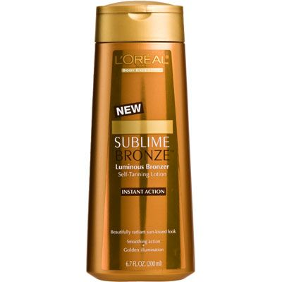 Loreal sublime bronze luminous bronzer self tanning lotion sublime bronze luminous bronzer self tanning lotion ccuart Gallery