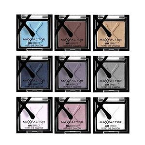 Max Factor eyeshadow singles