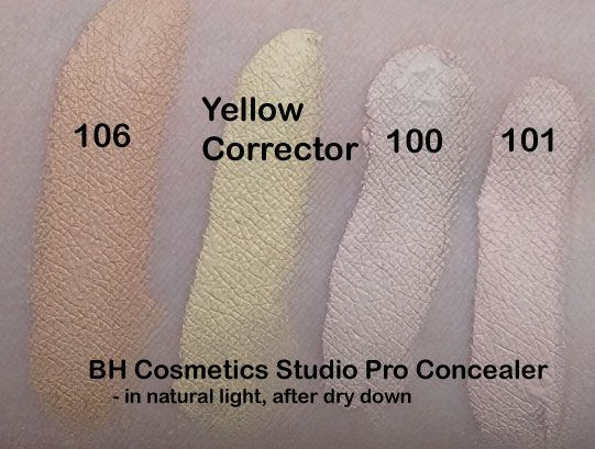Studio Pro Total Coverage Concealer by BH Cosmetics #7