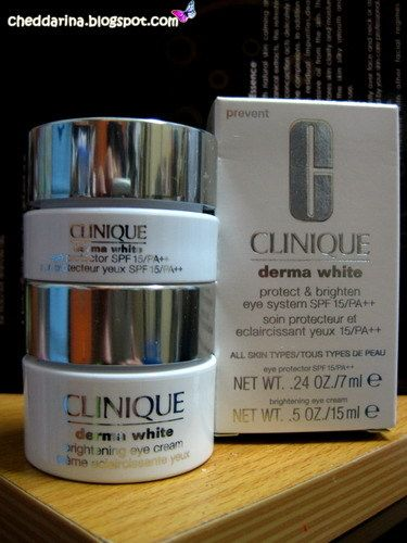Clinique Derma White Eye Moisture SPF 15