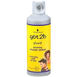 Got2B Glued hairspray