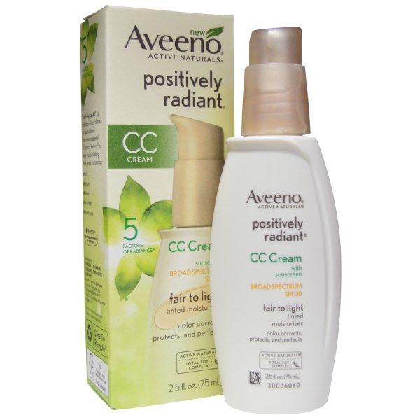 aveeno positively radiant cc cream reviews photo. Black Bedroom Furniture Sets. Home Design Ideas