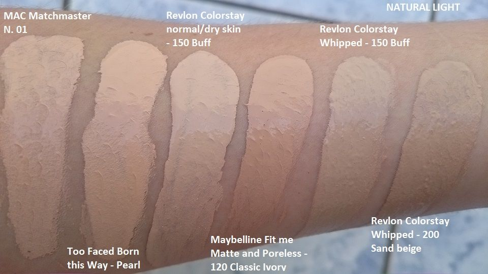 Revlon colorstay whipped cr me makeup reviews photos ingredients