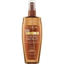 L'Oreal Sublime Bronze Clear Self-Tanning Gel