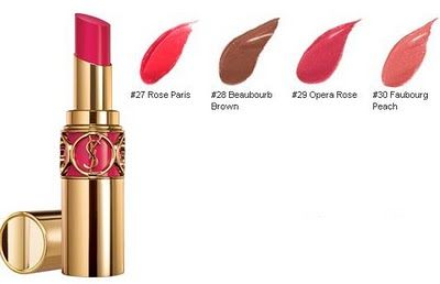 Yves Saint Laurent Rouge Volupte - Faubourg Peach #30