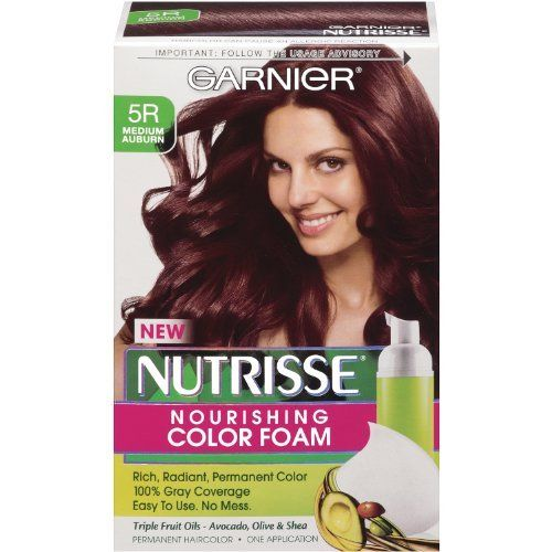 garnier nutrisse nourishing color foam - Colores Garnier