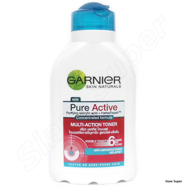 Garnier Pure Active Purifying Toner Reviews Photos Ingredients