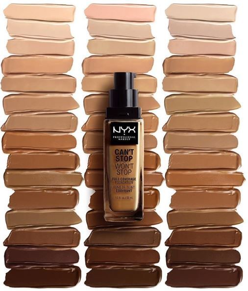 NYX Professional Makeup Can t Stop Won t Stop Full Coverage ... a48ffedd1aad7