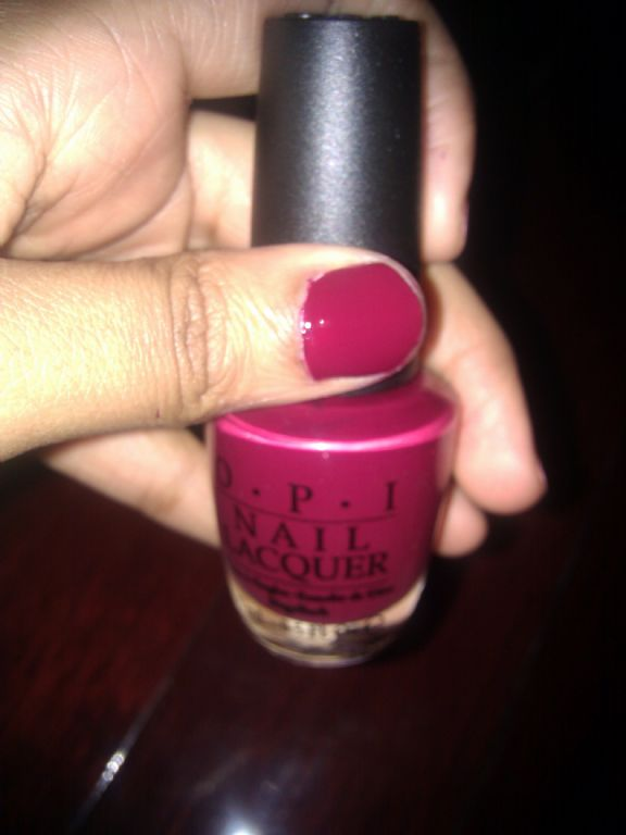 OPI Just A Little Rosti At This