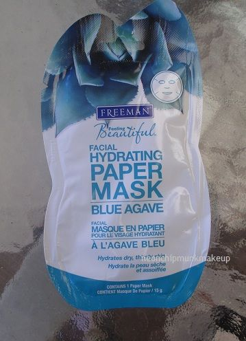 Freeman Blue Agave Hydrating Paper Mask