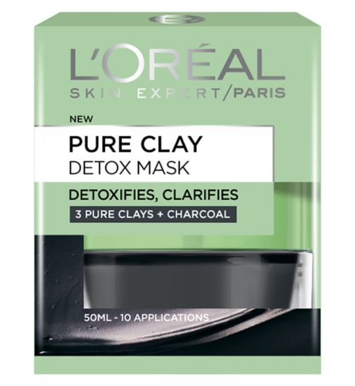 l oreal pure clay mask instructions