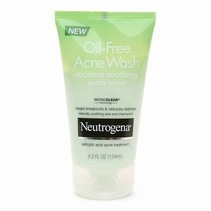 Neutrogena Oil-Free Acne Wash Redness Soothing Gentle Scrub