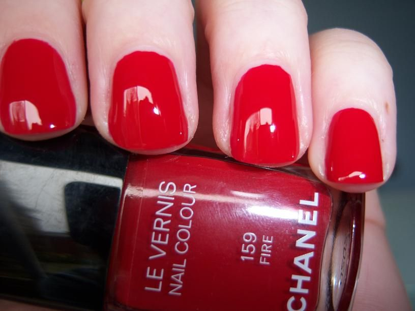 CHANEL Le Vernis nail colour #159 Fire reviews, photos Sorted by ...