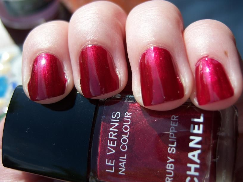 Polishes. Chanel Ruby Slippers (Uploaded by alisonmidd)