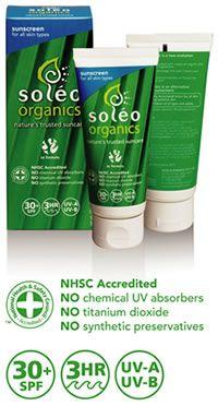 Soleo Organics SPF 30+