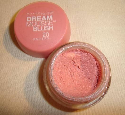 Maybelline Dream Mousse Blush in Peach Satin ] ] [DISCONTINUED]