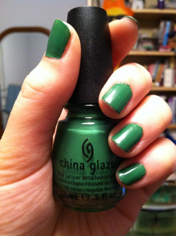 China Glaze Starboard reviews, photos - Makeupalley