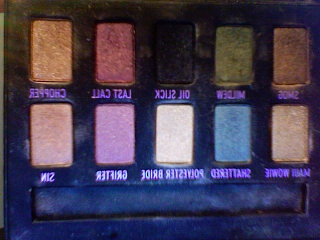 urban decay urban ammo eye palette reviews photos ingredients