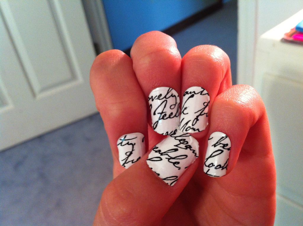 Sally Hanson Love Letter Nails (Uploaded by rarityfalls)