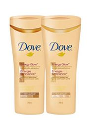 Dove Energy Glow Daily Moisturizer with Subtle Self Tanners for Fair skin tones