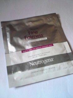 Neutrogena neutrogena fine fairness mask