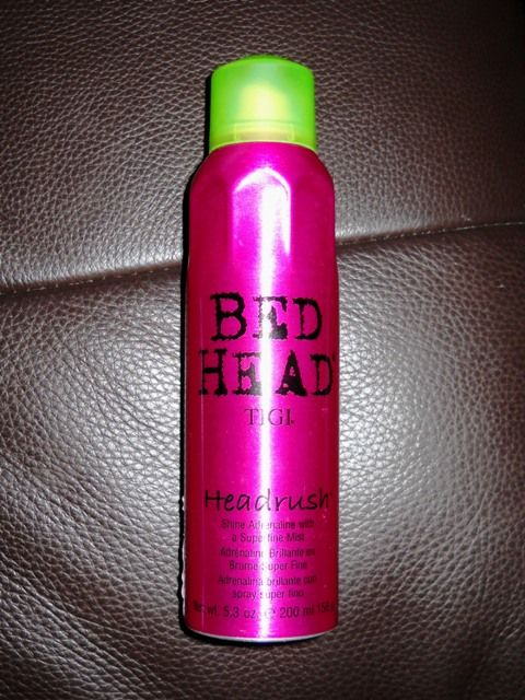Tigi Bed Head Headrush Shine Adrenaline Reviews Photos