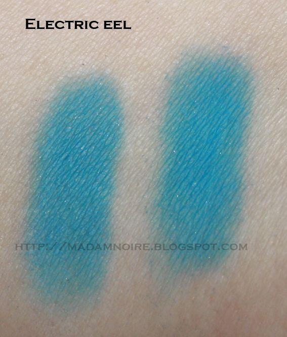 Basic info about MAC Electric Eel Eye Shadow
