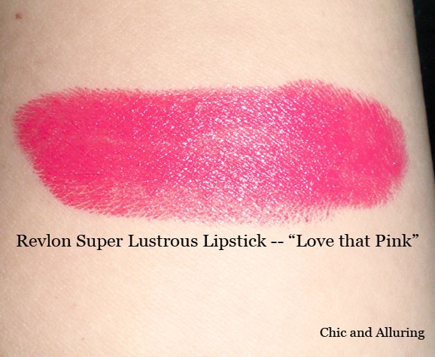 Revlon Super Lustrous - Love That Pink reviews, photos - Makeupalley