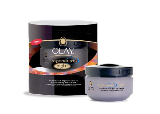 Olay Regenerist Continuous Night Recovery Moisturizing Treatment