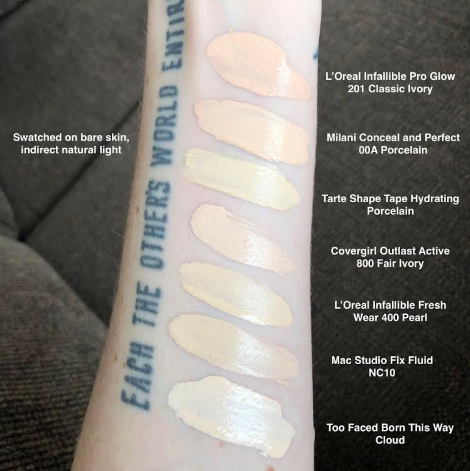L Oreal Paris Infallible Pro Glow 24hr Foundation Reviews Photos Ingredients Makeupalley