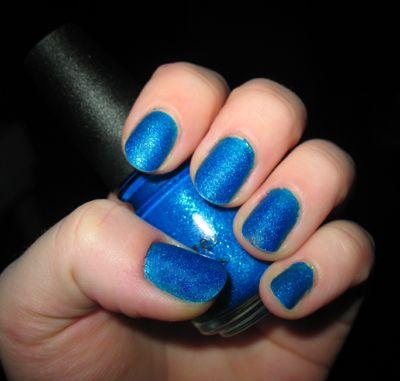 China Glaze Blue Sparrow (Uploaded by oceanmist27)