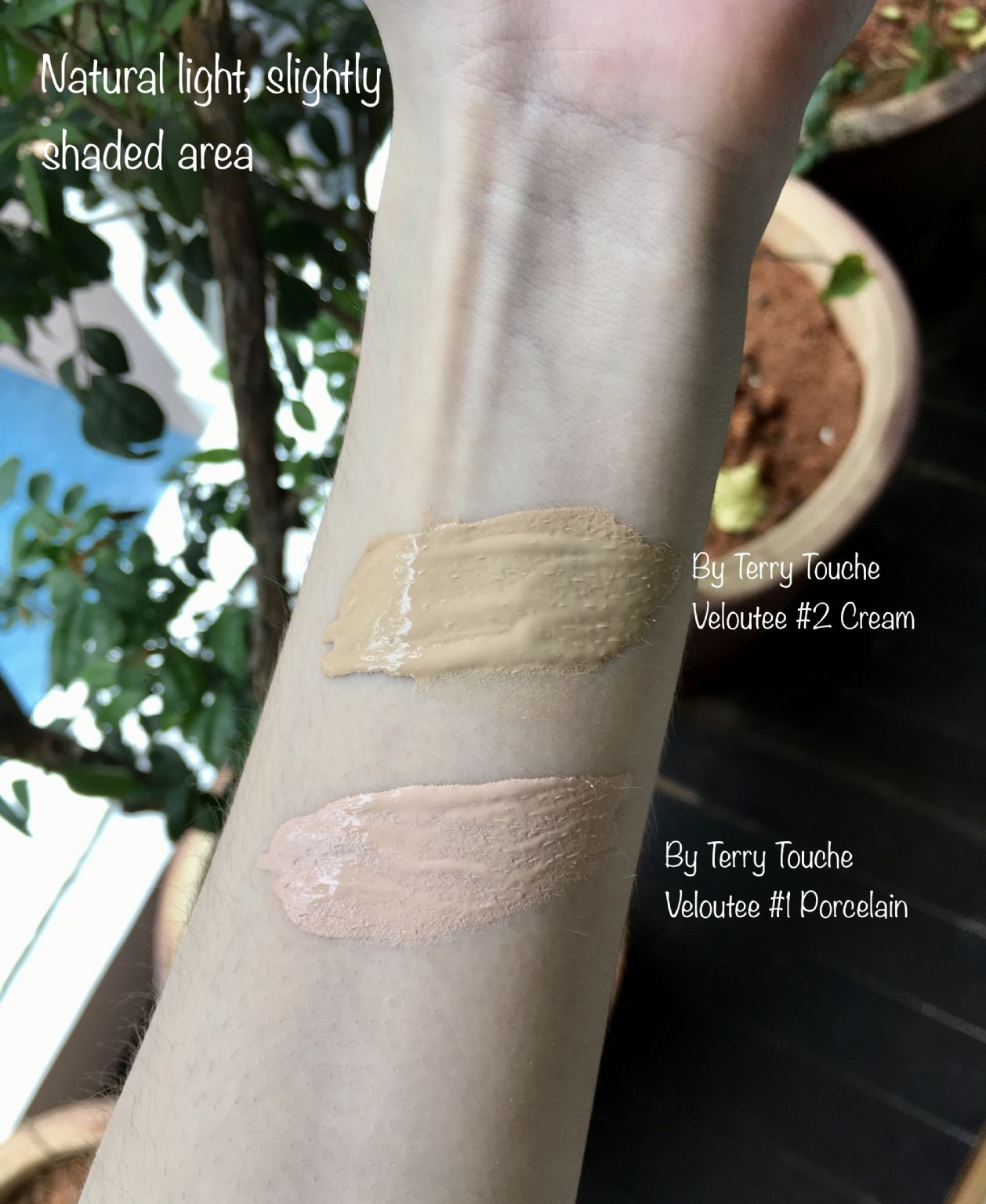 By Terry Touche Veloutee swatches  (Uploaded by triplexm)