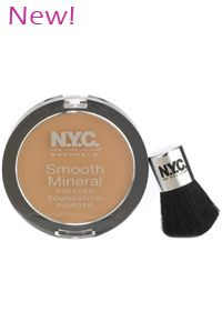 New York Color Smooth Mineral Pressed Powder Foundation