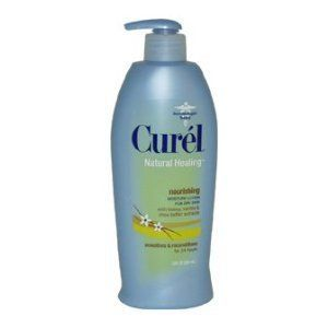 Curel Natural Healing Lotion-Honey Vanilla Shea