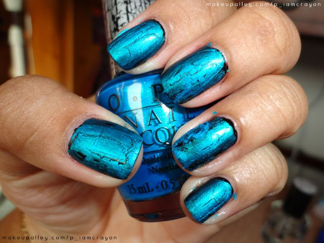 Opi Turquoise Shatter Reviews Photos Ingredients Makeupalley
