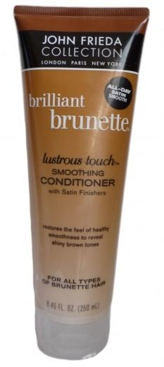 John Frieda brilliant brunette lustrous touch smoothing conditioner