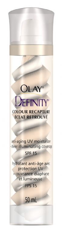 Olay Definity Color Recapture Anti-Aging UV Moisturizer + Sheer Illuminating Coverage - Fair/Light