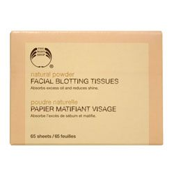 The Body Shop Facial Blotting Tissues