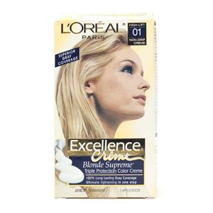 L'Oreal Excellence Creme Blonde Supreme in Lightest Ash Blonde