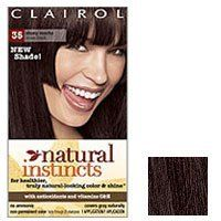 Clairol Natural Instincts in 35 Ebony Mocha (Brown/Black)