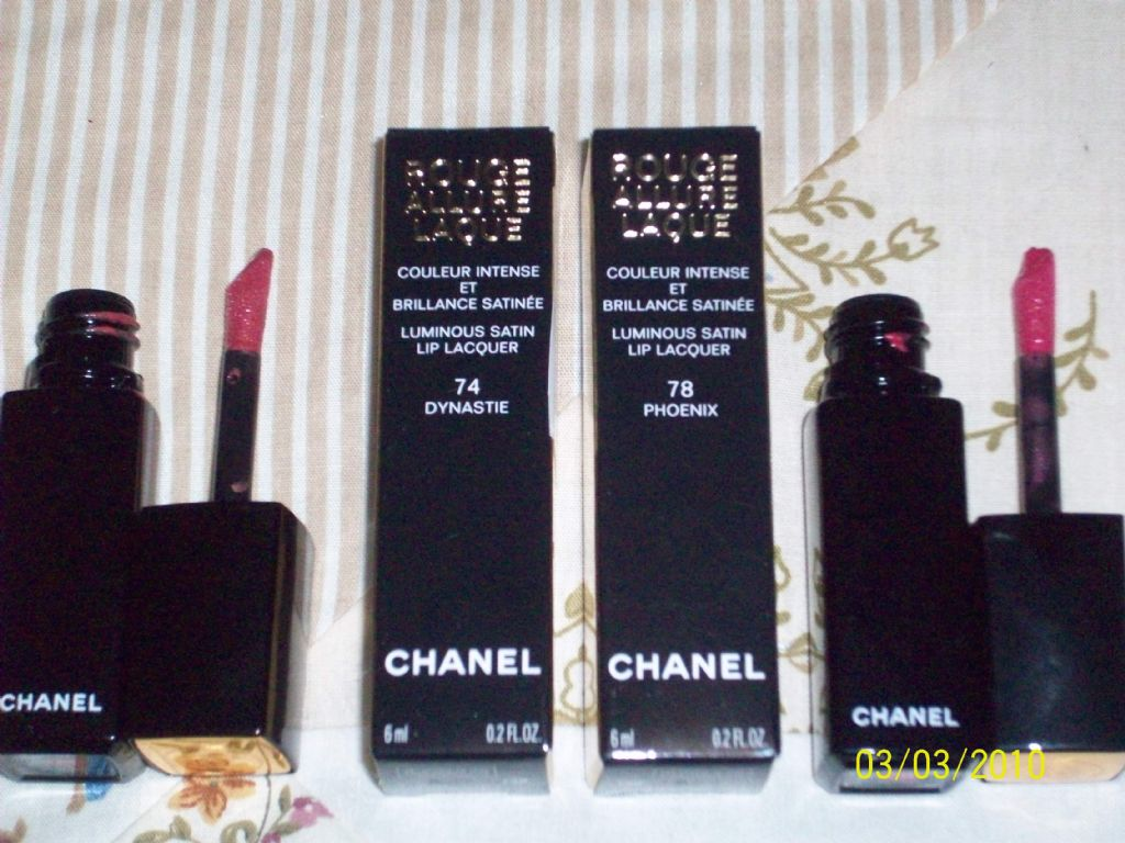 Chanel Allure Laque in Phoenix and Dynastie (Uploaded by 800256)