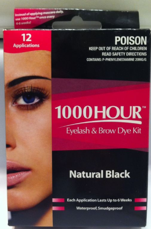 1000HOUR Eyelash & Brow Dye Kit reviews, photos - Makeupalley