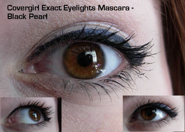1d5fc4ff48e COVERGIRL Exact Eyelights Eye-Brightening Mascara - Black Pearl · This is 3  coats.