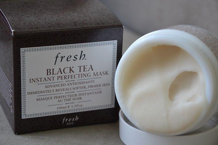 ผลการค้นหารูปภาพสำหรับ Fresh BLACK TEA INSTANT PERFECTING MASK